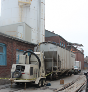 silo industrial cleanup